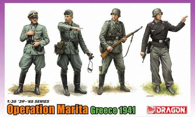 Dragon-6783  Operation Marita, Greece 1941
