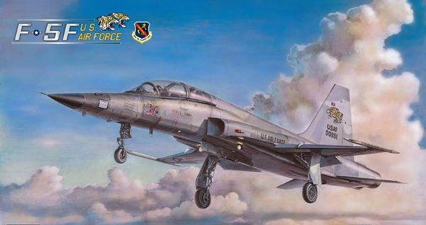 AFV CLUB-48106  skala 1:48 F-5F US AIR FORCE