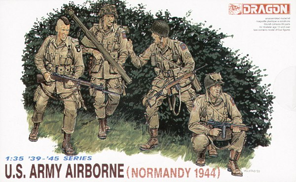 Dragon-6010   US ARMY AIRBORNE, NORMANDY'44