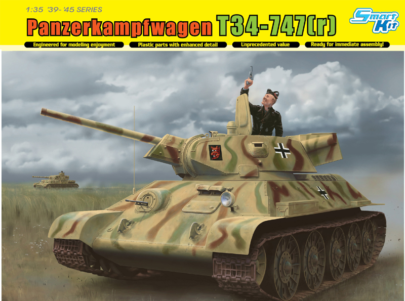 Dragon-6449  T-34-747(r) STZ Mod.1942 Late Production