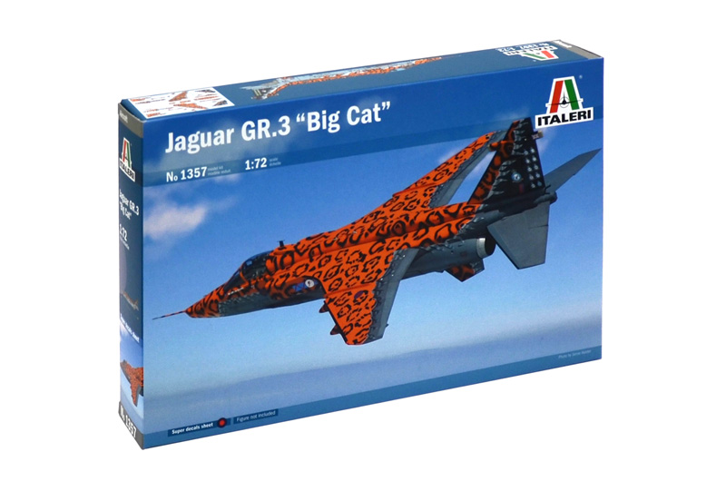 "Italeri-1357  JAGUAR GR.3 ""BIG CAT""  1:72"