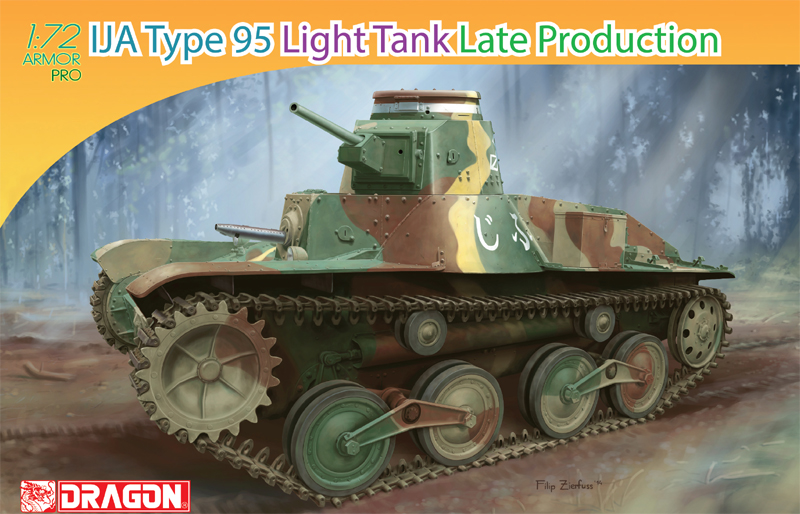 Dragon-7517  IJA Type 95 Light Tank Late Production
