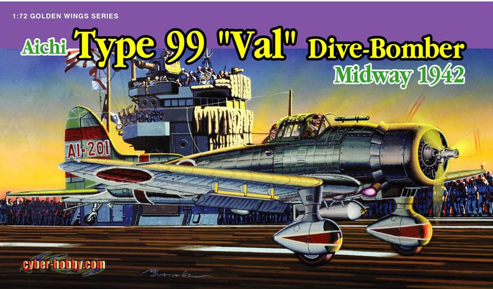 Cyber Hobby-5107  Type 99 Dive-Bomber  Midway 1942