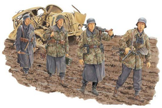 Dragon-6158 GERMAN INFANTRY,HG DIVISION Anzio 1944