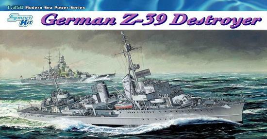 Dragon-1037  GERMAN Z-39 DESTROYER