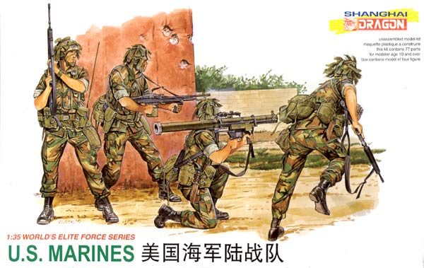 Dragon-3007  1:35  U.S. MARINES