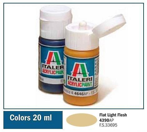 Italeri-4390 AP  acryl - FLAT LIGHT FLESH