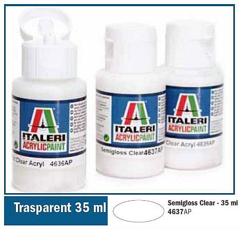 Italeri-4637 AP  acryl - SEMI GLOSS CLEAR