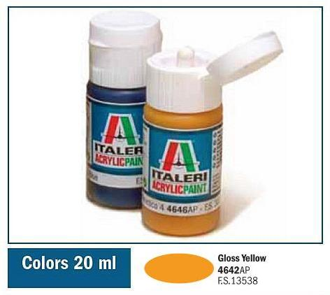 Italeri-4642 AP  acryl - GLOSS YELLOW