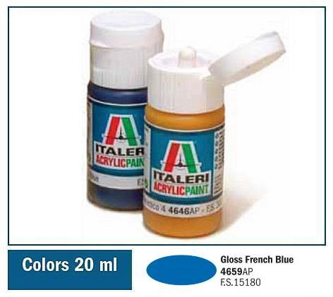 Italeri-4659 AP  acryl - GLOSS FRENCH BLUE