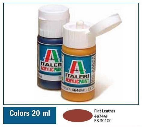 Italeri-4674 AP  acryl - FLAT LEATHER