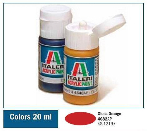 Italeri-4682 AP  acryl - GLOSS ORANGE