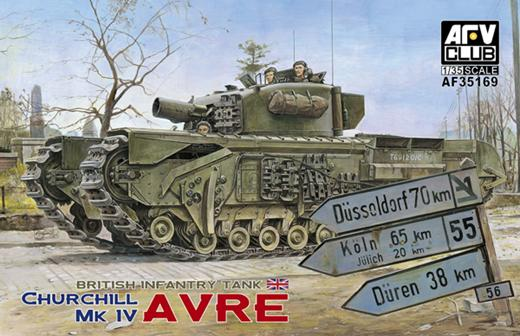 AFV CLUB-35169  skala 1:35 Churchill Mk IV AVRE
