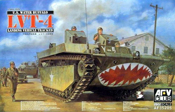 AFV CLUB-35205  skala 1:35 LVT-4 Buffalo (Early Type)