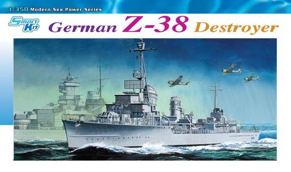 Dragon-1049  German Z-38 Destroyer