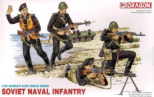Dragon-3005  SOVIET NAVAL INFANTRY