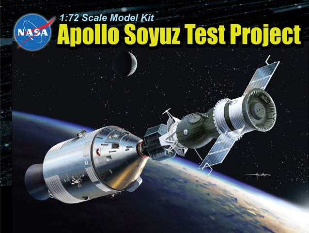 Dragon-11012  1:48 Apollo Soyuz Test Project