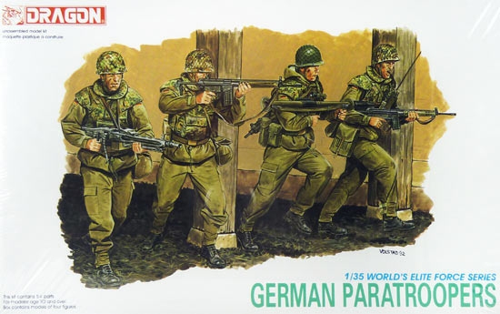 Dragon-3021 GERMAN PARATROOPERS