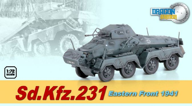 Dragon Armor-60599  Sd.Kfz.231 Eastern Front 1941
