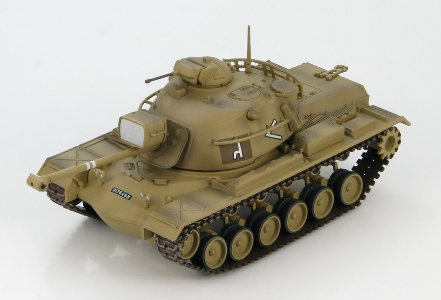 Hobby Master-HG5503 M48A2 Patton medium tank, Rafah Junction and Rafah El Arish Road, 1967
