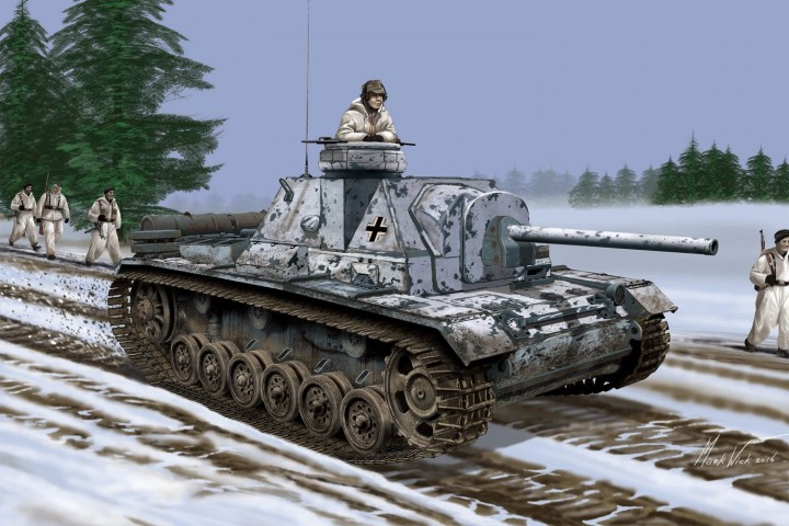 Dragon-6856  German SU-76i with Cupola