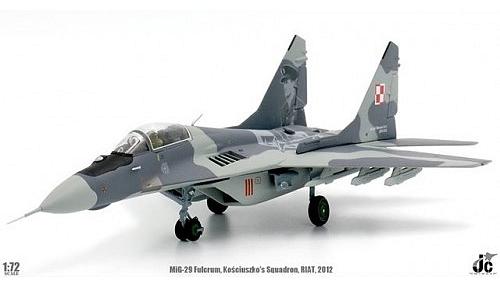 Jc Wings Mig 29 Fulcrum Polish Air Force Kosciuszko Sqn Riat 2012 Samoloty Modele Gotowe Drim Pl Sklep Modelarski