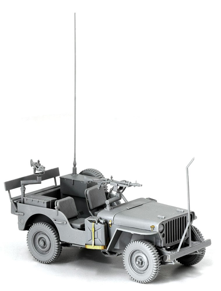 Dragon-3609  IDF 1/4-Ton 4x4 Truck w/MG34 Machine Guns