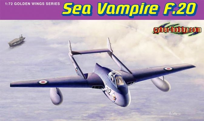 Dragon-5112  1/72 Sea Vampire F.20