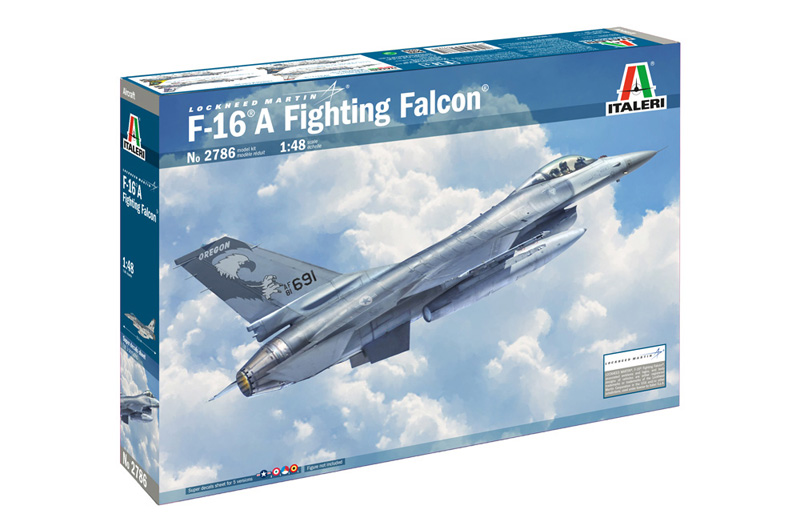 Italeri-2786  F-16 A Fighting Falcon