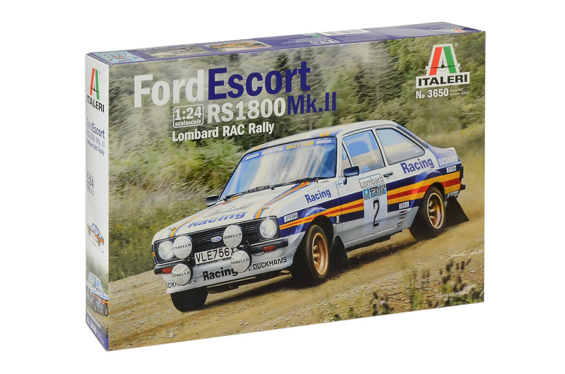Italeri-3650  Ford Escort RS 1800 Mk.II Lombard RAC Rally
