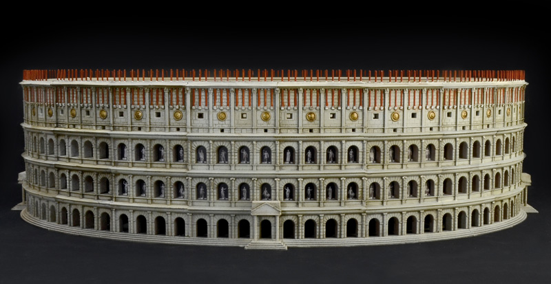 Italeri-68003  THE COLOSSEUM : WORLD ARCHITECTURE