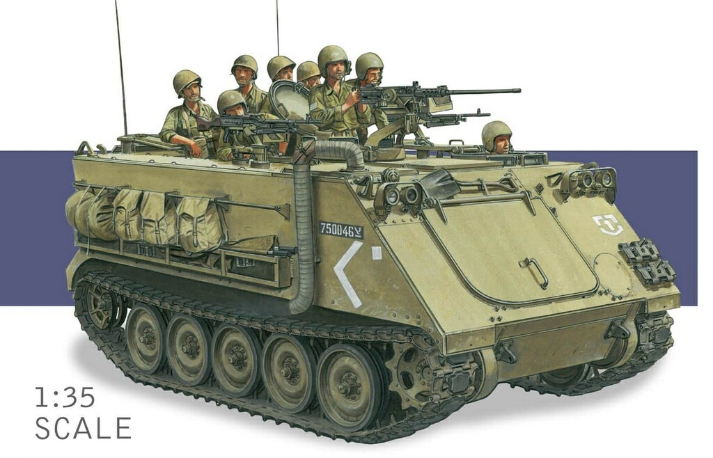 Dragon-3608  IDF M113 Armored Personnel Carrier - Yom Kippur War 1973