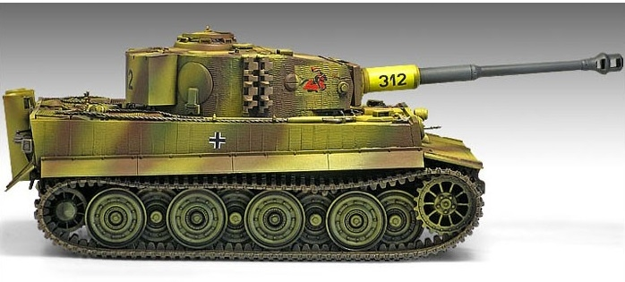 Academy 13314  Tiger I Late Version **
