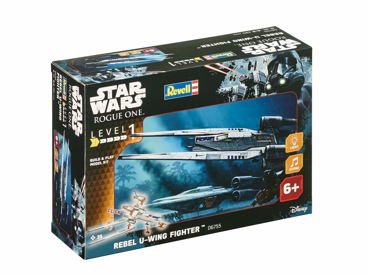Revell 06755 Star War Build & Play Rabel U-Wing**
