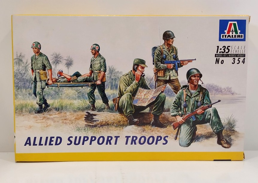 Italeri-0354  1:35 ALLIED SUPPORT TROOPS