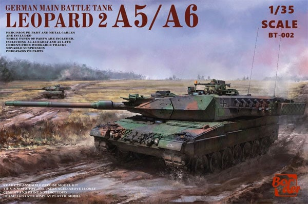 Border Model BT-002 Leopard A5 A6 Early & A6 Late
