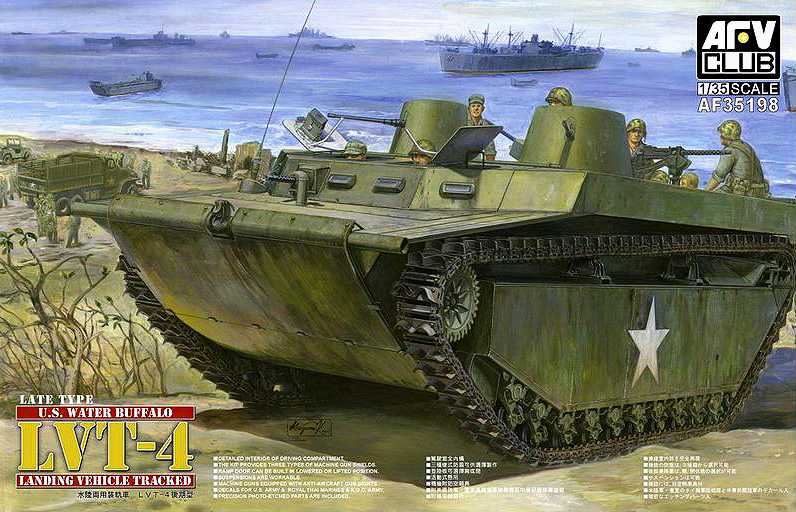 AFV CLUB-35198  skala 1:35 LVT-4 Buffalo (Late) **